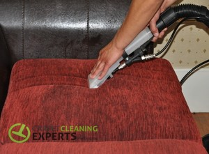 Professional Upholstery hot water extraction cleaning